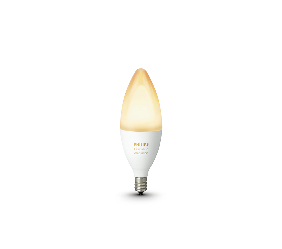 Philips Hue White Ambiance Single Bulb E12
