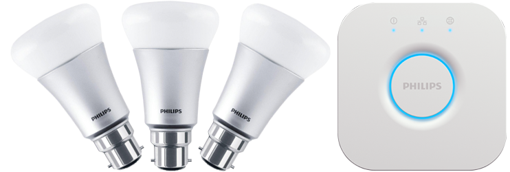 Philips Hue White and Color 9W B22 Starter Kit
