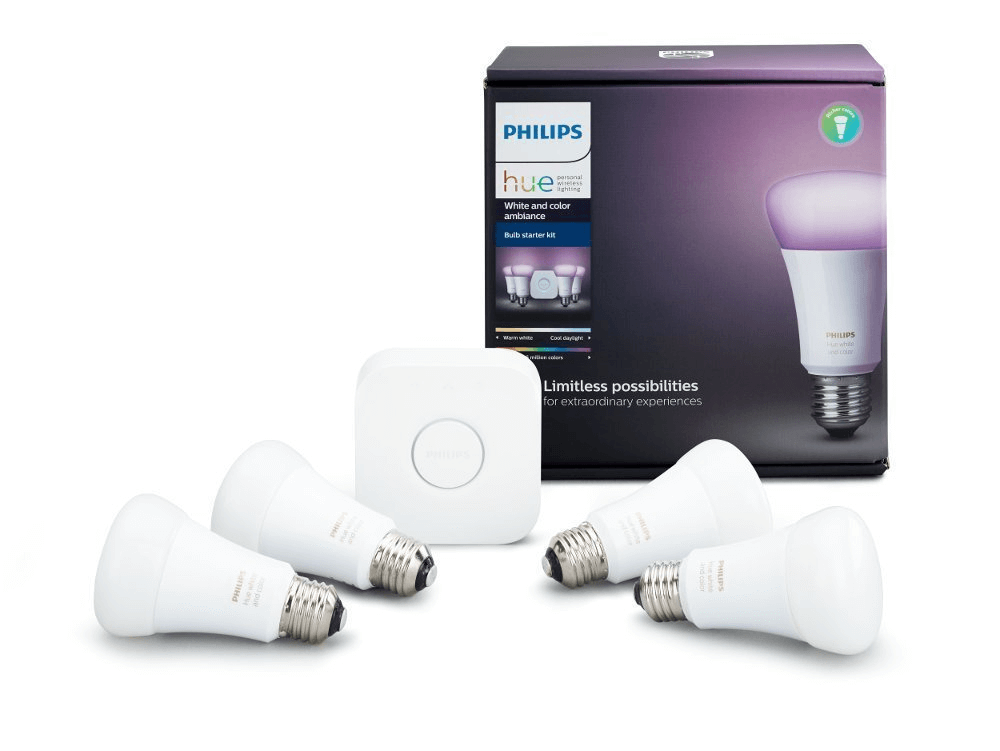 Philips Hue White and Color 9W E26 Starter kit (3rd Gen)