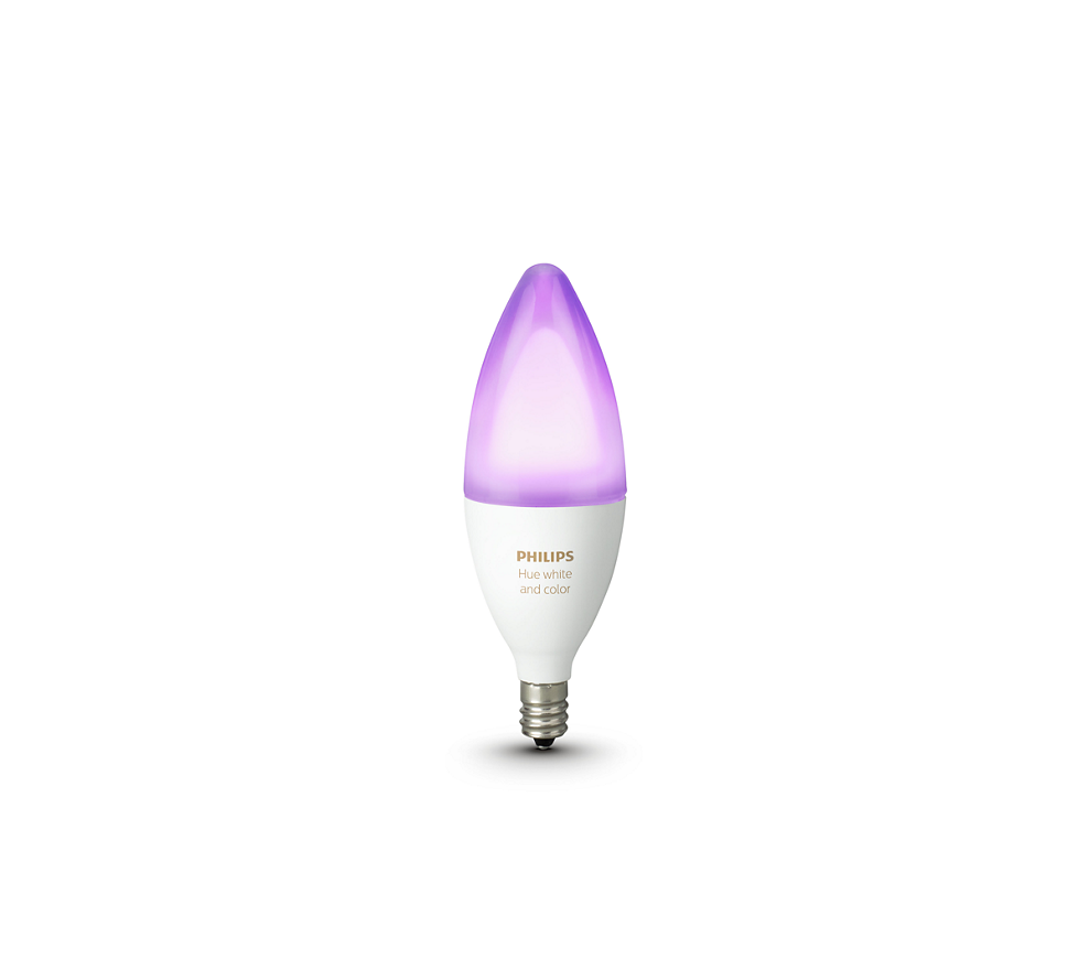 Philips Hue White and Color Ambiance Single Bulb E12
